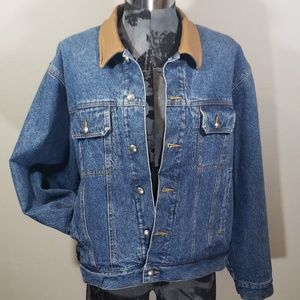 Woolrich denim jacket with blanket lining Large